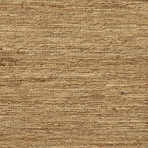 Hemp Grass Rug Collection in Autumn Brush with Narrow Cotton border in Granola