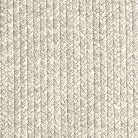 Isla Polysilk Outdoor Rug Collection in Breeze with Narrow Cotton border in Alabaster