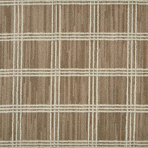 Hudson Nylon Residential / Commercial Rugs & Carpet Collection in Bronze with Narrow Cotton border in Harvest Haze