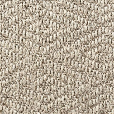 Kava Patterned Sisal Rug Collection in Cardamom with Narrow Cotton border in Ivory Blush