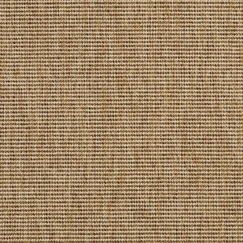Belize Outdoor Sisal Rug Collection in Dune with Narrow Cotton border in Granola