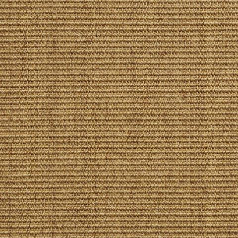 Boucle Sisal Rug Collection in Sand with Narrow Cotton border in Granola