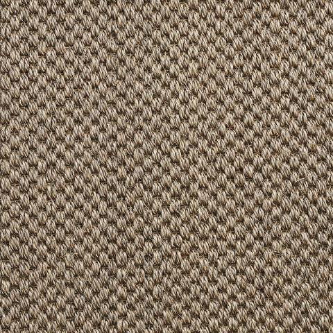 Dorado Sisal Rug Collection in Ashland with Narrow Cotton border in Rye
