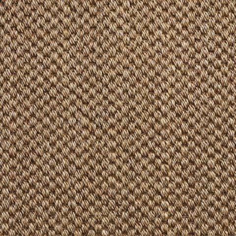Dorado Sisal Rug Collection in Edgewood with Narrow Cotton border in Pale Ash