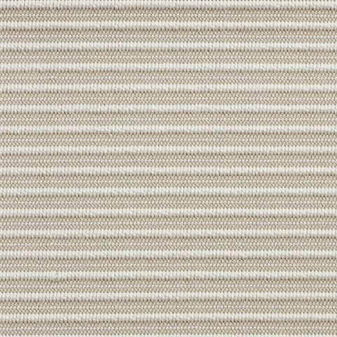 Laguna Outdoor Sisal Rug Collection in Frost with Narrow Cotton border in Alabaster