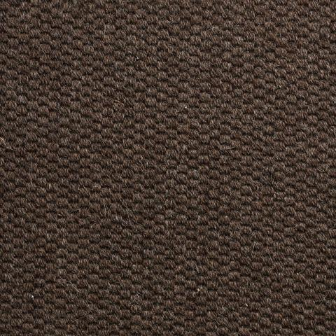 Midtown Wool Commercial Rugs & Carpet Collection in Brown with Narrow Cotton border in Fudge