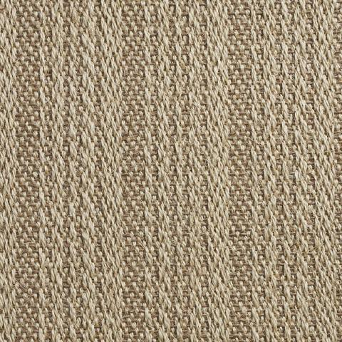 Milano Sisal Rug Collection in Beige with Narrow Cotton border in Pistachio Shell