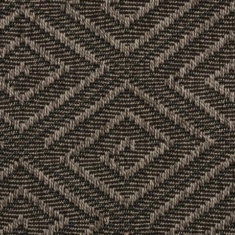 Montego Outdoor Sisal Rug Collection in Charcoal