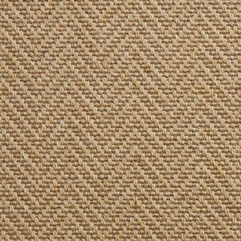Tides Wool Rug Collection in Conch with Narrow Cotton border in Butter Rum