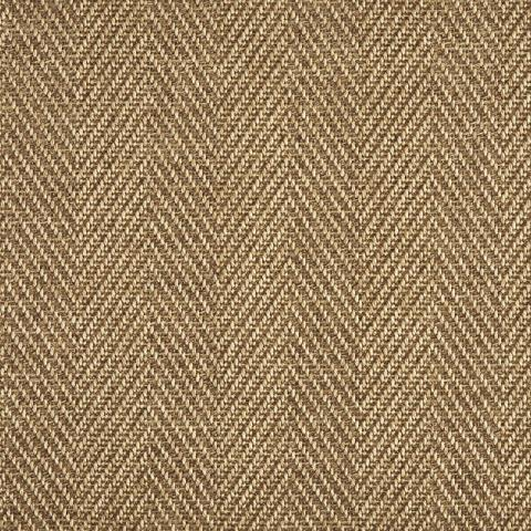 Arlington Outdoor Sisal Rug Collection in Bronze with Narrow Cotton border in Bronze