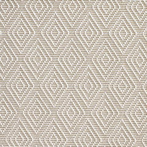 Aruba Outdoor Sisal Rug Collection in Frost with Narrow Cotton border in Alabaster
