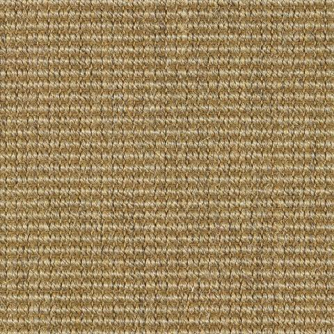 Santiago Sisal Rug Collection in Beachwood with Narrow Cotton border in Granola