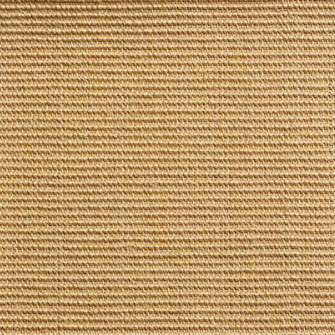 Capri Stain Resistant Sisal Rug Collection in Beige with Narrow Cotton border in Honeycomb