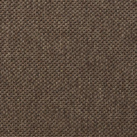 Brooklyn Nylon Commercial Rugs & Carpet Collection in Brown with Narrow Cotton border in Alabaster