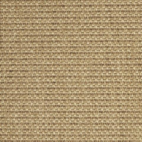 All-Weather Indoor/Outdoor Rug Collection in Costa Rica Sisal with Narrow Cotton border in Granola