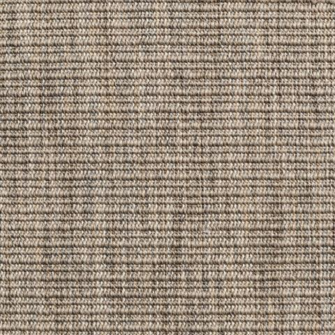 Embassy Indoor Outdoor Commercial Rugs & Carpet in Taupe with Narrow Cotton border in Silver Shadow