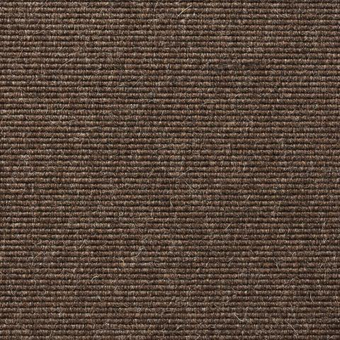 Soho Wool Commercial Rugs & Carpet Collection in Brown with Narrow Cotton border in Fudge