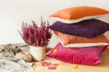Jewel Colored Throw Pillows