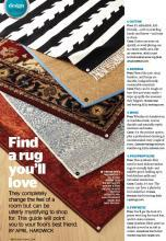 Sisal Rugs Direct in Redbook Magazine