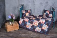 Patchwork Quilts Are a Great Choice in Rustic Interior Design.