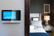 Modern Hospitality Space Offers Smart Home Technology.